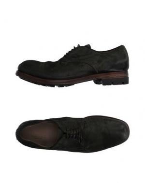 Обувь на шнурках PREVENTI. Цвет: зеленый-милитари