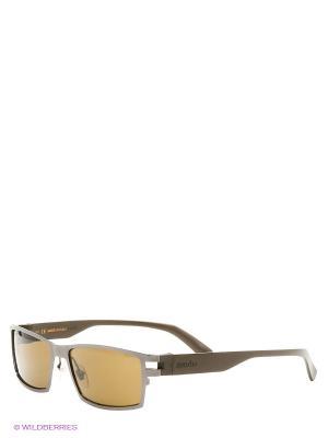 Солнцезащитные очки RH 741 03 Zerorh. Цвет: коричневый