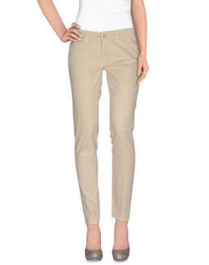 Повседневные брюки S.O.S by ORZA STUDIO. Цвет: бежевый
