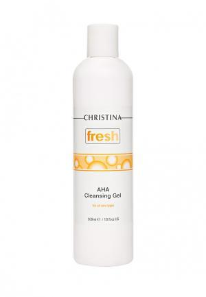 Мыло с альфагидроксильными кислотами Christina. Цвет: белый