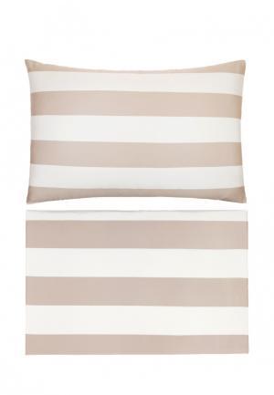 Комплект постельного белья Евро Bovi. Цвет: разноцветный