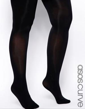 ASOS Curve Черные колготки плотностью 80 ден. Цвет: черный