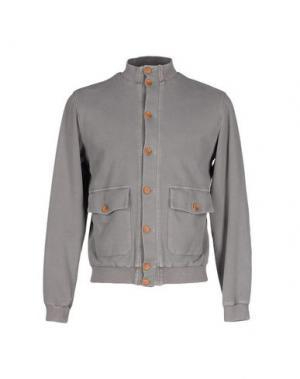 Куртка FRADI. Цвет: серый