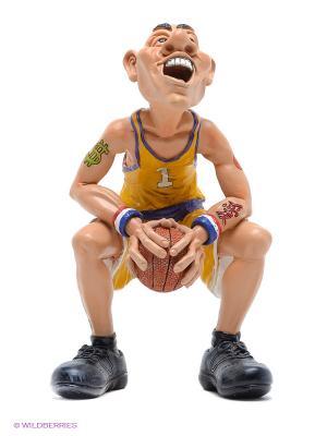 Фигурка Баскетболист В предвкушении... The Comical World of Stratford. Цвет: желтый, кремовый, фиолетовый, черный
