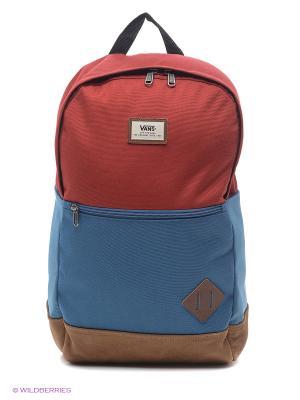 Рюкзак VANS. Цвет: синий, бордовый