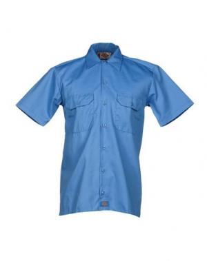 Джинсовая рубашка DICKIES. Цвет: лазурный