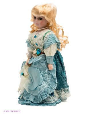 Кукла фарфоровая Вера Lisa Jane. Цвет: бледно-розовый, голубой