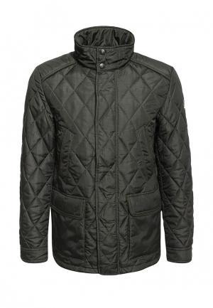 Куртка утепленная Navigare. Цвет: зеленый