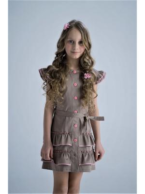 Платье сафари BONNE CHANCE!