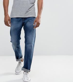 Diesel Выбеленные прямые джинсы Waykee 084GR. Цвет: синий