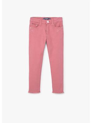 Джинсы - PATRI Mango kids. Цвет: розовый