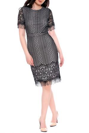 Платье Moda di Chiara. Цвет: black and light pink