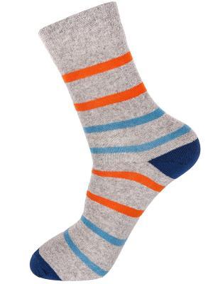 Носки NOSOCKS!. Цвет: синий, оранжевый, серый