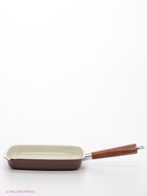 Cковорода-гриль Winner. Цвет: коричневый