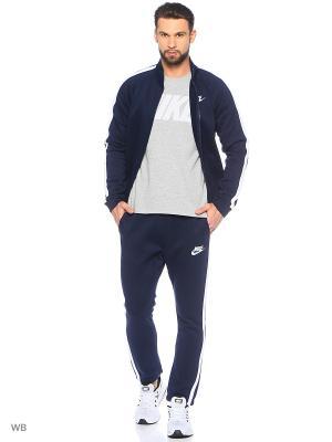 Спортивный костюм M NSW TRK SUIT FLC SEASON Nike. Цвет: темно-синий, белый