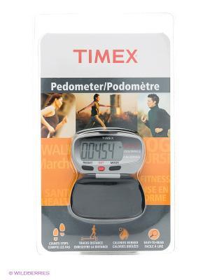 Электронный шагометр TIMEX. Цвет: серый