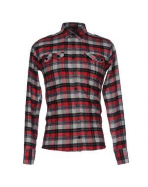 Pубашка JUNK DE LUXE. Цвет: красный