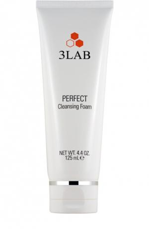 Идеальная очищающая пенка для лица всех типов кожи 3LAB. Цвет: бесцветный