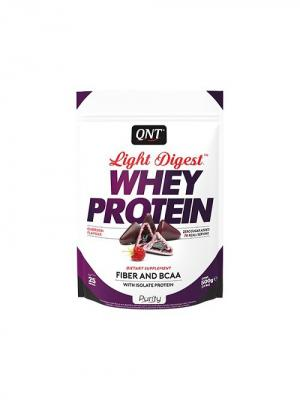 Протеин Light Digest Whey Protein (кубердон) 500 гр QNT. Цвет: белый