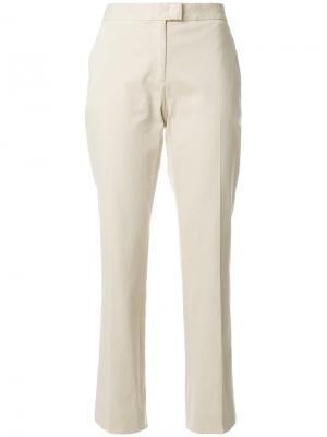 Классические укороченные брюки-чинос Ps By Paul Smith. Цвет: телесный