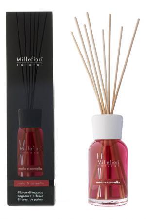 Диффузор Яблоко и Корица millefiori milano. Цвет: красный