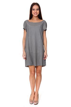Платье Drome. Цвет: серый