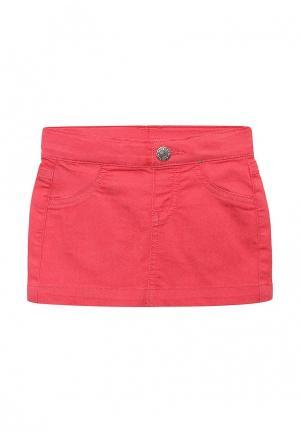 Юбка джинсовая United Colors of Benetton. Цвет: красный