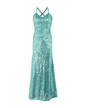 Длинное платье SONIA FORTUNA. Цвет: зеленый