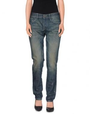Джинсовые брюки RA-RE. Цвет: синий