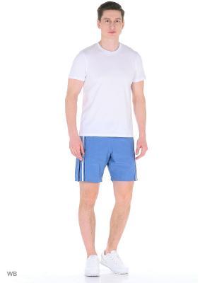 Спортивные шорты TAGERTON. Цвет: серо-голубой