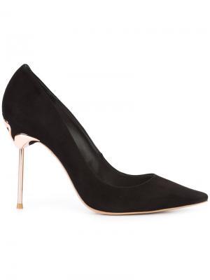 Классические туфли-лодочки Sophia Webster. Цвет: чёрный
