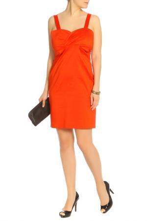 Платье Caractere. Цвет: темно-оранжевый
