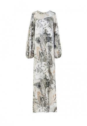 Платье Bella Kareema. Цвет: серый