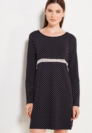 Сорочка ночная OVS. Цвет: черный
