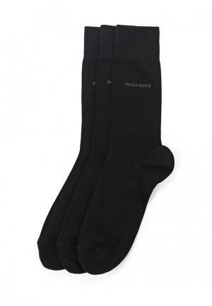 Комплект носков 3 пары Boss Hugo. Цвет: черный