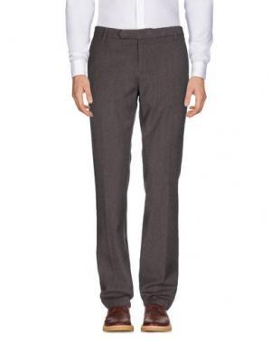 Повседневные брюки ORIGINAL VINTAGE STYLE. Цвет: темно-коричневый