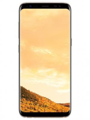 Смартфон Samsung Galaxy S8 (SM-G950FZDDSER), желтый топаз. Цвет: золотистый