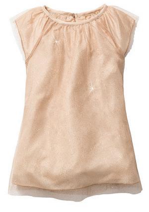 Платье. Цвет: бежевый, серый