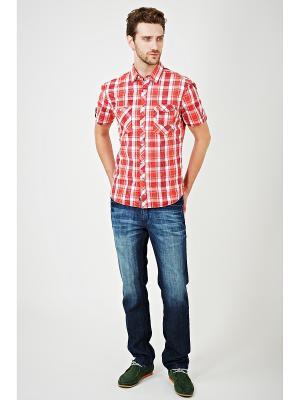 Рубашка Mavango. Цвет: красный