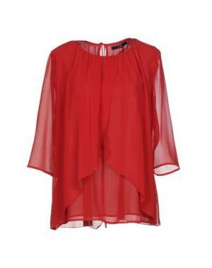 Блузка G.SEL. Цвет: кирпично-красный
