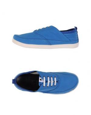 Обувь на шнурках VOLTA. Цвет: лазурный