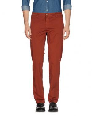 Повседневные брюки MANUEL RITZ. Цвет: ржаво-коричневый