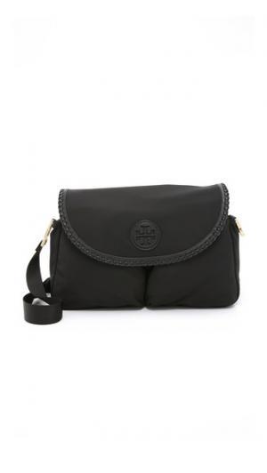 Нейлоновая сумка-портфель для детских вещей Marion Tory Burch