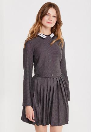 Платье Befree. Цвет: серый