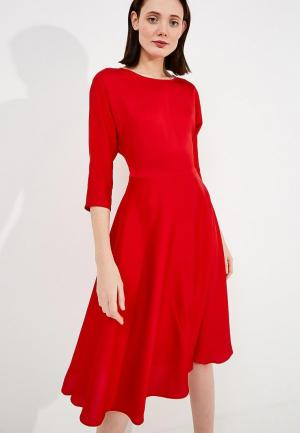 Платье Terekhov Girl. Цвет: красный