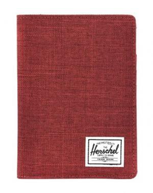 Чехол для документов HERSCHEL SUPPLY CO.. Цвет: красно-коричневый