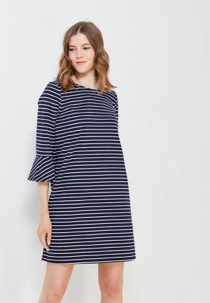 Платье Tom Tailor Denim. Цвет: синий