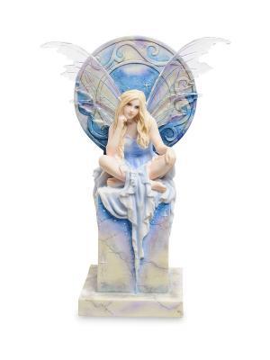 Статуэтка Небесная фея Veronese. Цвет: белый, голубой