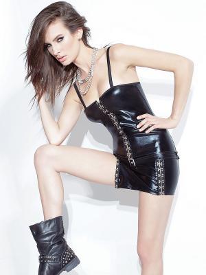 Платье Coquette Lingerie. Цвет: черный