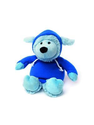 Игрушка-грелка Овечка в худи голубая Warmies. Цвет: голубой